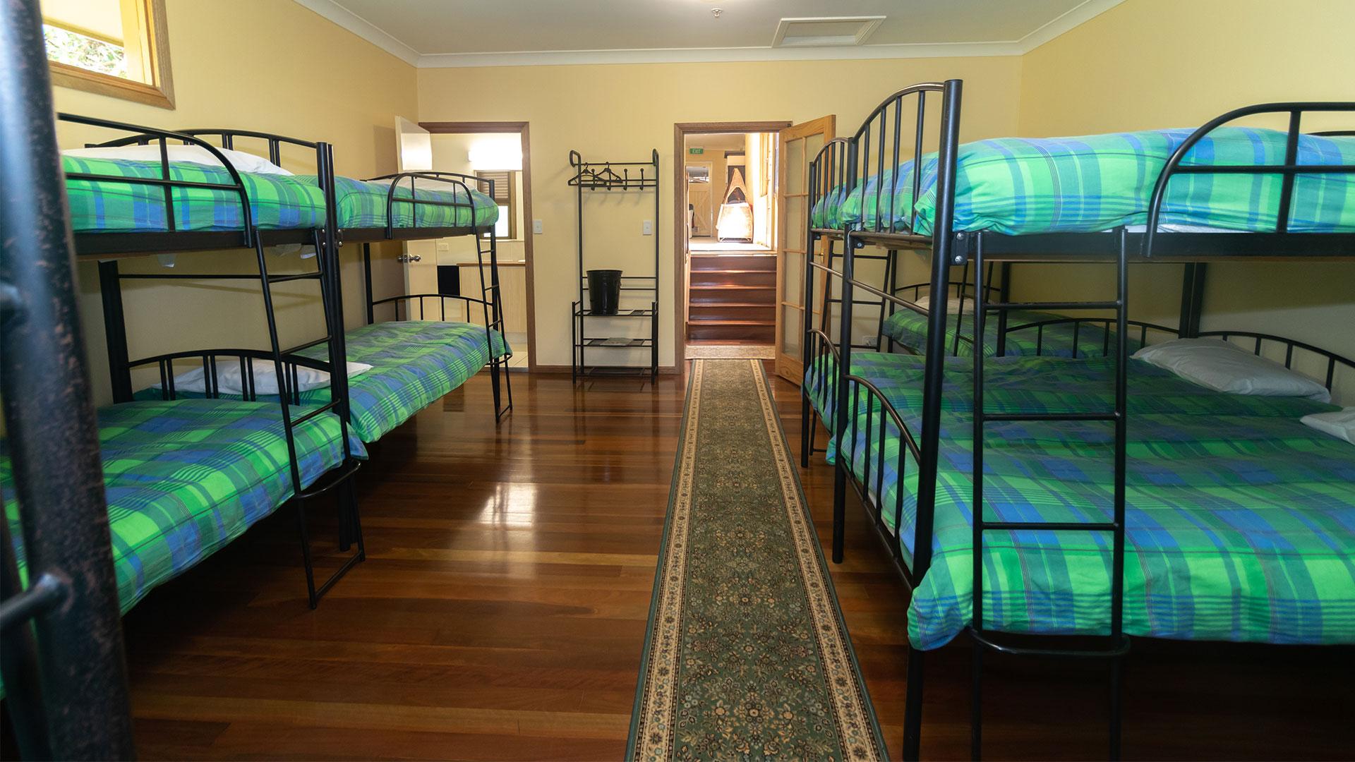Mystery Mountain Farm Stay | Dorm Room