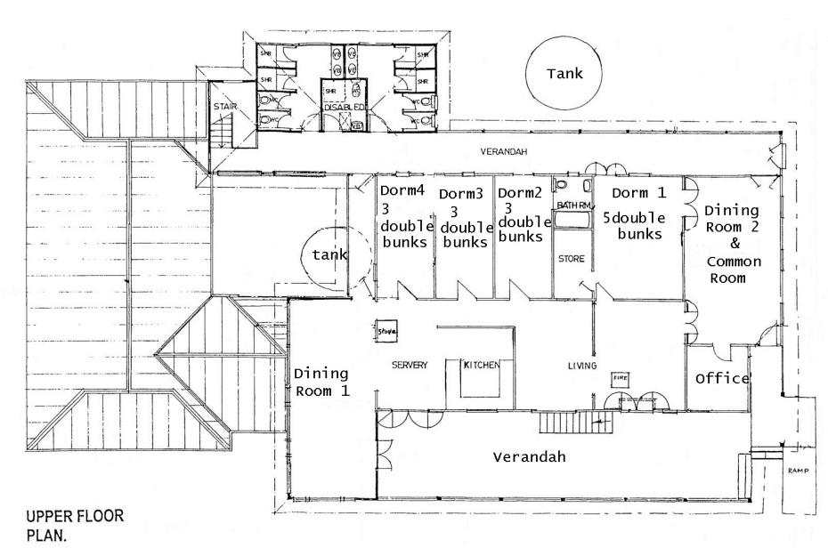 Mystery Mountain Farm Stay | Floor Plan